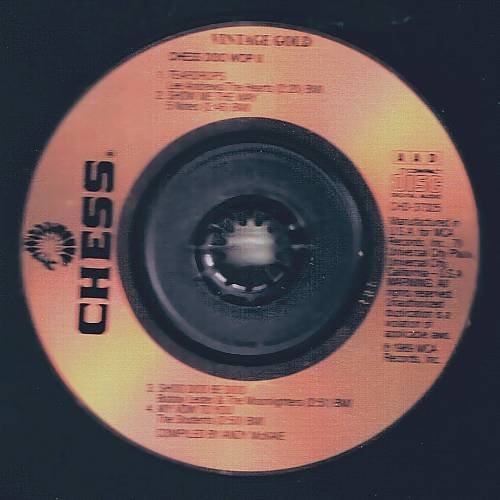 CD3 VINTAGE GOLD - Chess Doo Wop (1989) - 3 inch CD
