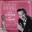 CARLOS DUVAL - En El Rincon Del Tango - LP
