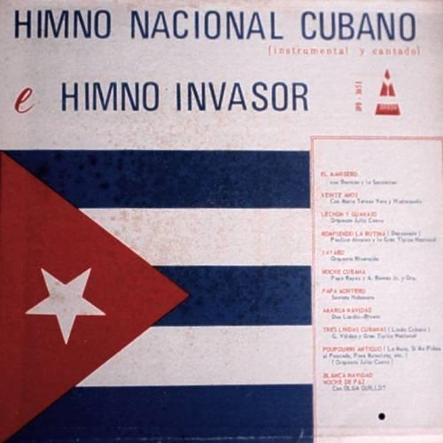 VARIOS ARTISTAS - Himno Nacional Cubano - LP