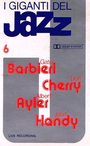 I GIGANTI DEL JAZZ No. 6 (1960) - Cassette Tape