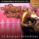 THE KING AND I - 15 ORIGINAL RECORDINGS (2002) - CD