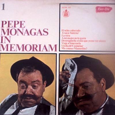 PEPE MONAGAS - Pepe Monagas In Memoriam 1 (1967) - LP