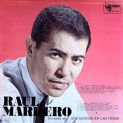 RAUL MARRERO - Creador De: Sin Sangre En Las Venas - LP