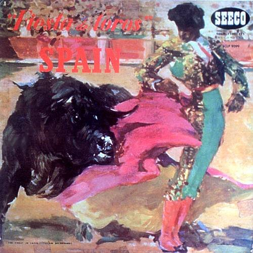 LARRY SONN Y SU ORQUESTA - Fiesta De Toros - LP