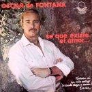 OSCAR DE FONTANA - Se Que Existe El Amor (1979) - LP