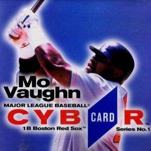 MLB CybrCard Series No. 1: Mo Vaughn - CD-ROM