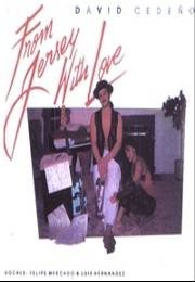 DAVID CEDE�O - From Jersey With Love (1991) - Cassette Tape