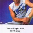 """JUANCHY VASQUEZ """"EL GALENO"""" Y ORQUESTA - La Diferencia (1986) - Cassette Tape"""