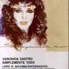VERONICA CASTRO - Simplemente Todo (1986) - Cassette Tape