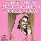 MARIA CALLAS - Great Arias Collection (1993) - CD