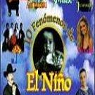VARIOS ARTISTAS - 10 Fenomenos De El Niño (1998) - Cassette Tape
