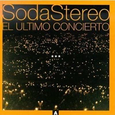 SODA STEREO - El Ultimo Concierto (1997) - Cassette Tape