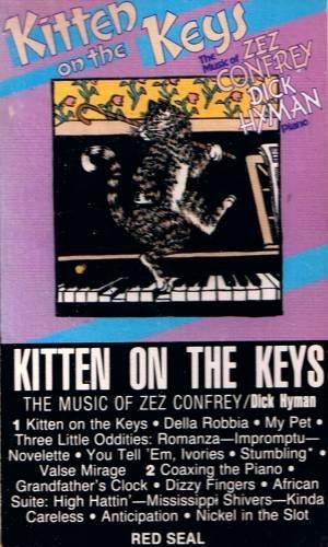DICK HYMAN - Kitten On The Keys (1983) - Cassette Tape