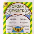 25 ORGAN FAVORITES (1978)  - Cassette Tape