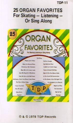 25 ORGAN FAVORITES (1978)  - Cassette Tape