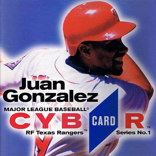 MLB CybrCard Series No. 1: Juan Gonzalez - CD-ROM