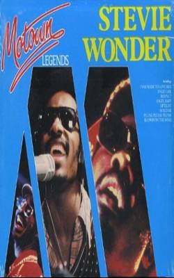 STEVIE WONDER - Motown Legends (1985) - Cassette Tape