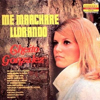 CHEITO GONZALEZ Y SU TRIO - Me Marchare Llorando - LP