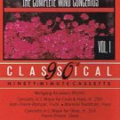 MOZART - The Complete Wind Concertos (1987) - Cassette Tape
