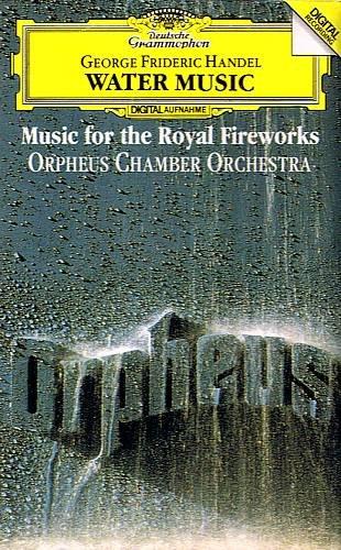HANDEL: Water Music / Music For The Royal Fireworks (1992) - Cassette Tape