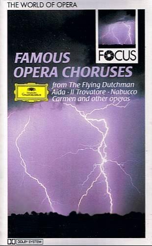 VARIOUS ARTIST - Famous Opera Choruses(1987) - Cassette Tape