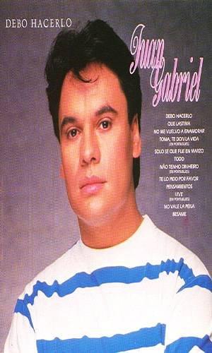JUAN GABRIEL - Debo Hacerlo (1987) - Cassette Tape