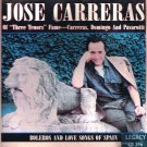 JOSE CARRERAS - Boleros and Love Songs of Spain - CD