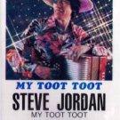 STEVE JORDAN - My Toot Toot (1995) - Cassette Tape