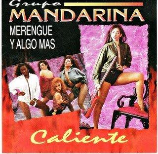GRUPO MANDARINA - Caliente: Merengue Y Algo Mas (1993) - CD