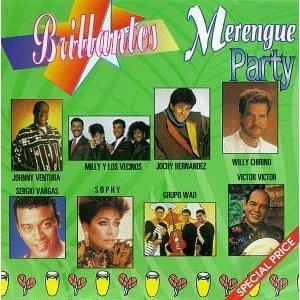 VARIOS ARTISTAS - Brillantes: Merengue Party (1994) - CD
