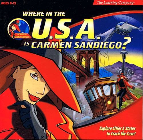 Where in the U.S.A. is Carmen Sandiego? Computer Game