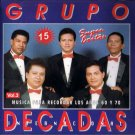 GRUPO DECADAS - 15 Super Exitos Vol. 3 - CD