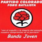 BANDA JOVEN - Partido Colorado: Foro Batillista (2000) - CD