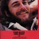 PAUL DAVIS - Cool Night (1981) - Cassette Tape