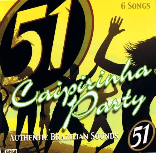 BRAZIL MADDNESS - 51 Caipirinha Party - 6 Track CD Promo