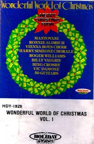 WONDERFUL WORLD OF CHRISTMAS Vol. 1 (1981) - Cassette Tape