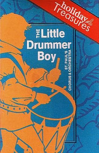 ST. PAUL'S CHORUS AND ORCHESTRA (1992) - Little Drummer Boy - Cassette Tape