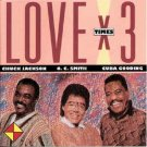 Chuck Jackson, O.C. Smith* & Cuba Gooding ‎– Love X 3 - CD