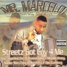 Mr. Marcelo - Streetz Got Luv 4 Me - CD (2001)