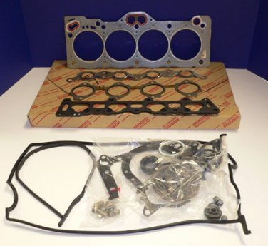 Toyota AE111 - 4AGE 20v Black Top Genuine Complete Engine Gasket Set