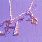 Playboy Platinum Plated Bunny Initial Pendant - Letter H - RRP £25