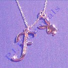 Playboy Platinum Plated Bunny Initial Pendant - Letter F - RRP £25