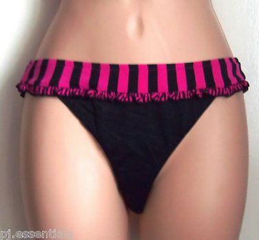 Seafolly Beatnik Mini Hipster Pant with Band Pink Size 8 or 16 - BNWT