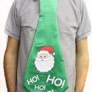 Novelty Jumbo Christmas Tie - Santa Claus HO  HO HO