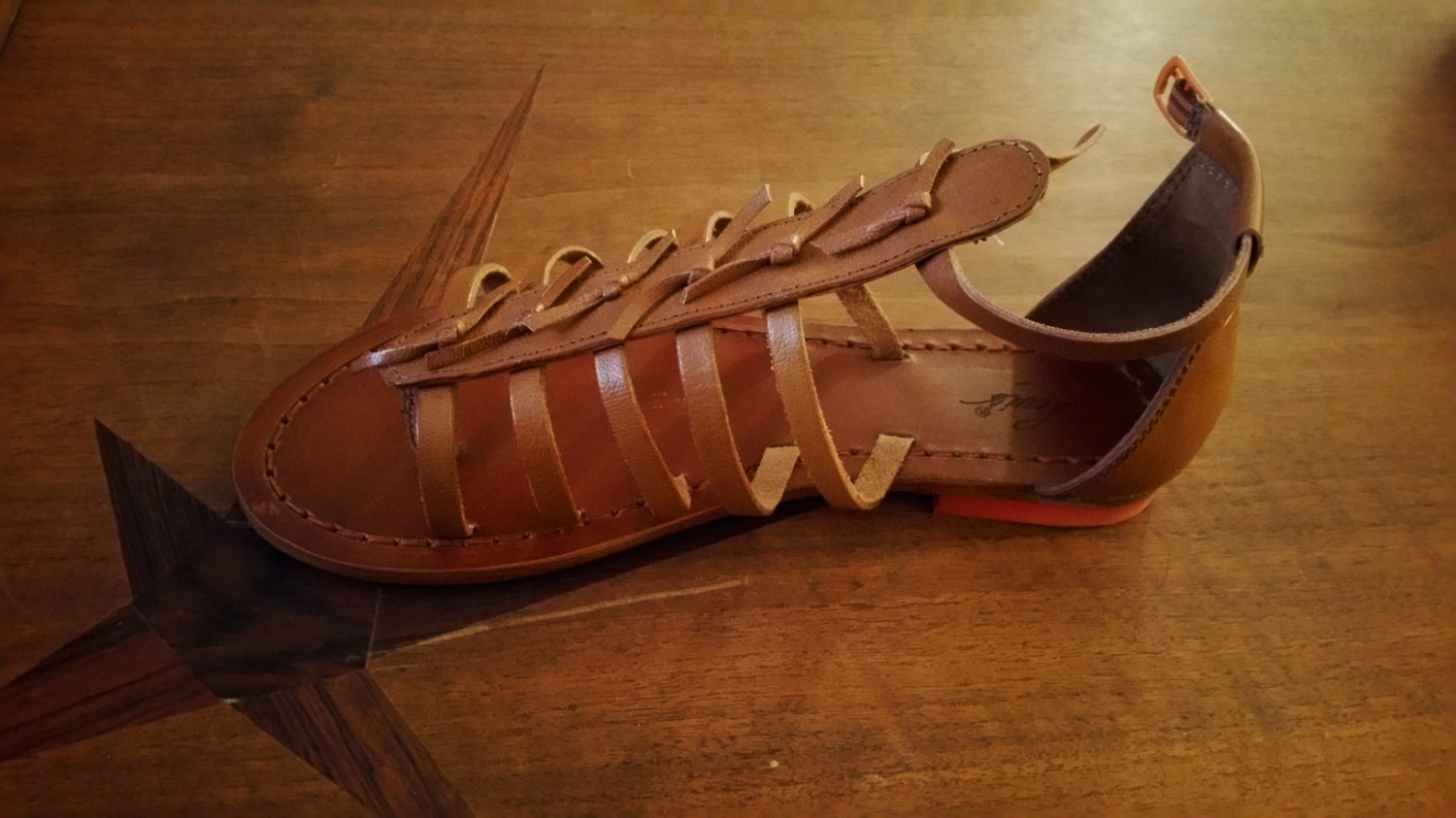 Levi's Crafted Leather Sandals 6.5
