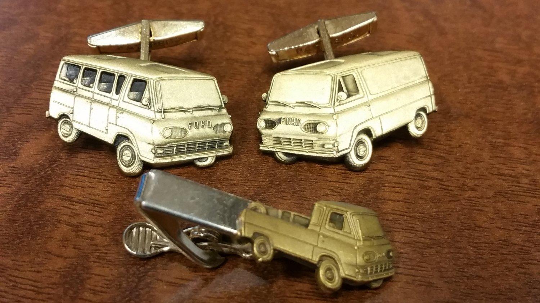 Vintage Set of Econoline Cufflinks