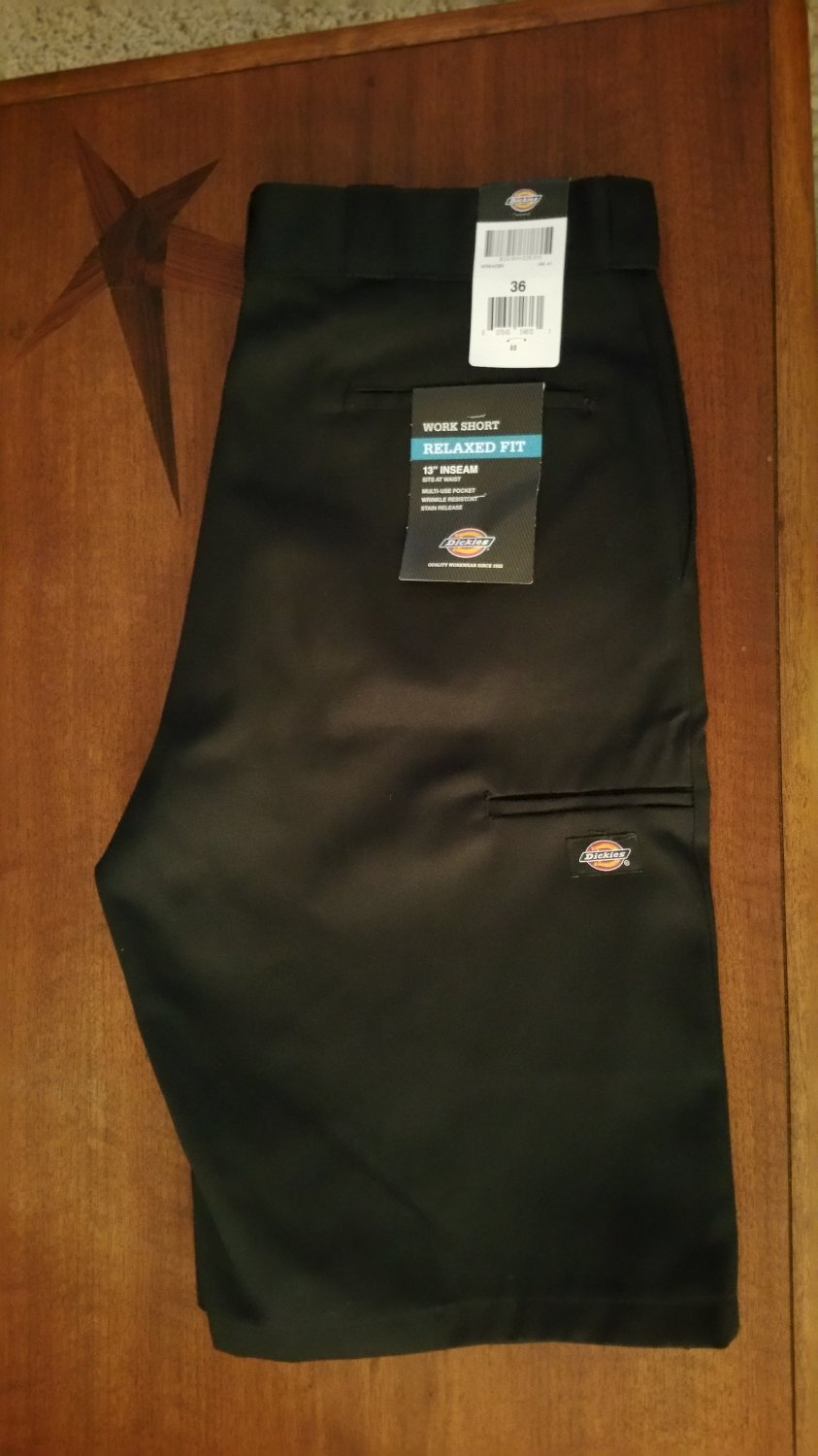 Dickies Work Shorts - Relaxed Fit Size 36