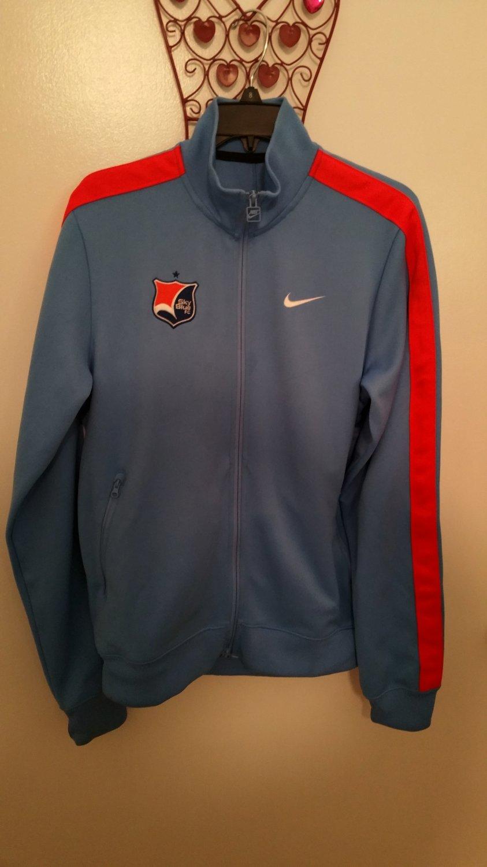 Nike Sky Blue FC Women's Soccer Jacket