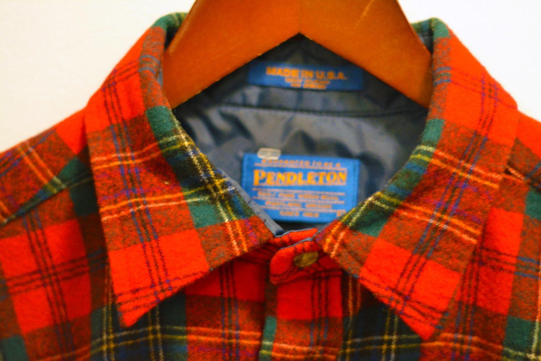 Pendleton Plaid Shirt - Red