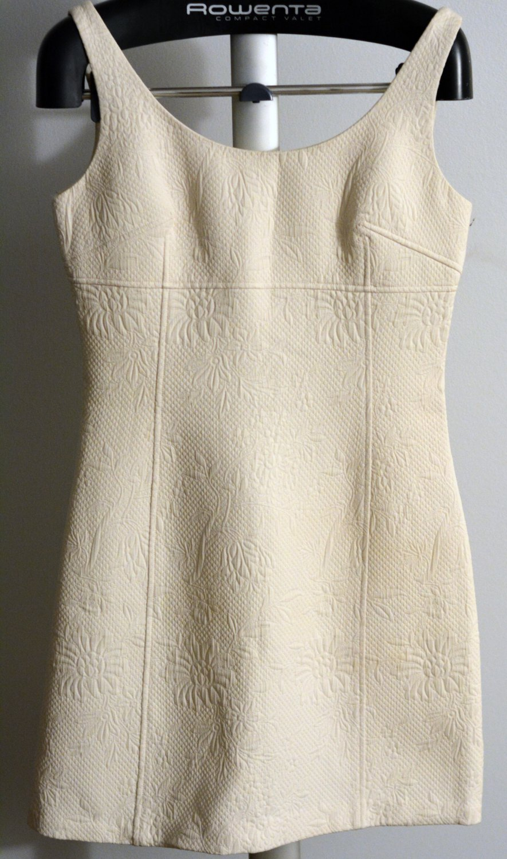Georgiou Studio Ivory dress Floral pattern